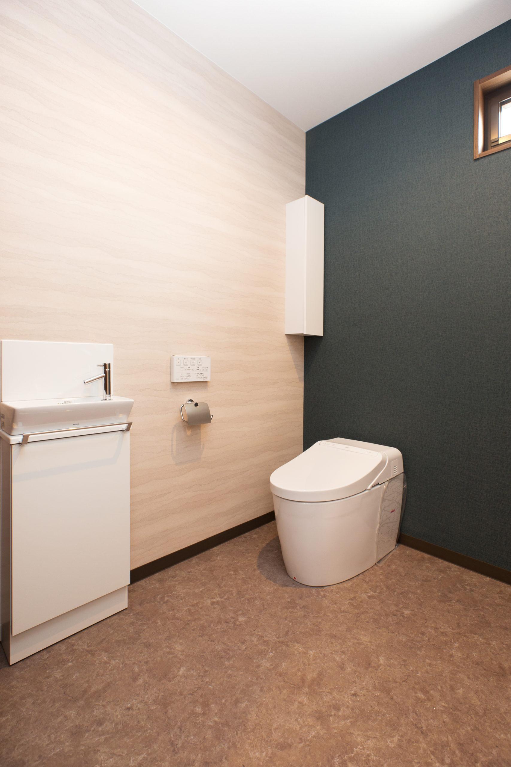 広めトイレ